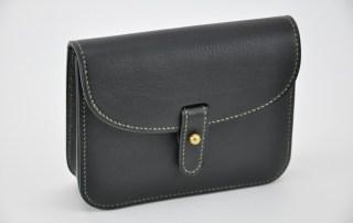 Pochette ceinture en cuir, pour femme et homme. Petit et pratique.