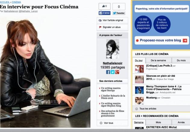 Focus Cinéma