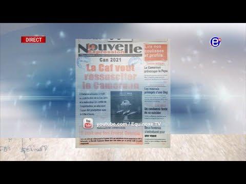 LA REVUE DES GRANDES UNES DU MERCREDI 9 JANVIER 2019 – ÉQUINOXE TV