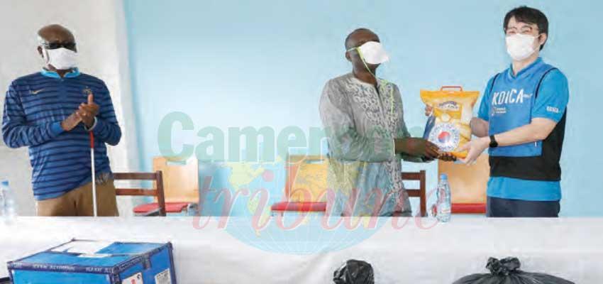 Coopération : la Koica aux côtés des jeunes aveugles