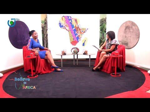 "🔴 Sur STV 2, ""BELIEVE IN AFRICA avec  Désirée LOWE, Fondatrice KOCSI"""