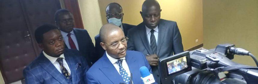 Le Président du Conseil d'Administration, le Directeur Général et le Directeur Général Adjoint de la SONAMINES sont connus