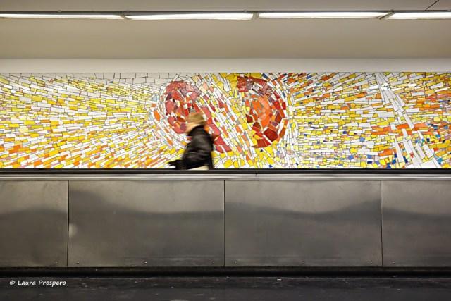 mosaico de claude mareéchal - cluny © Laura Prospero