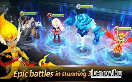 Summoners War: Sky Arena (updated v 3.2.1) Maud (many attacks)