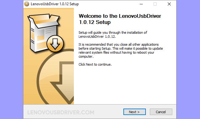 Lenovo Driver v1.0.12