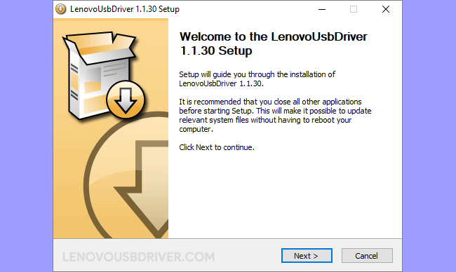 Lenovo Driver v1.1.30
