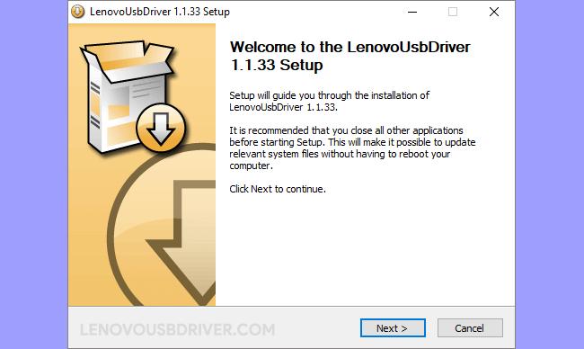 Lenovo Driver v1.1.33