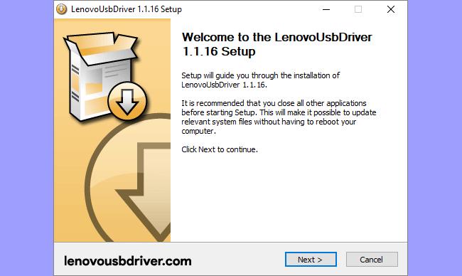 How to install lenovo usb driver on windows 10, 8, 7, vista, xp.