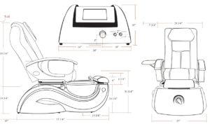 Lenox GX Pedicure Spa