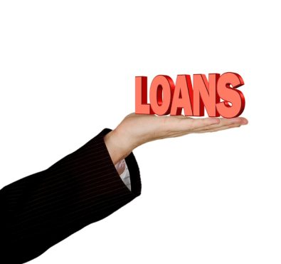 loan on outstretched hand
