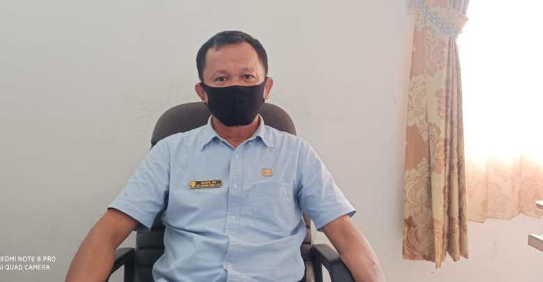 FOTO : Plt Kepala Dinas Transmigrasi, Tenaga Kerja dan UKM Kabupaten Gunung Mas, Sudin.