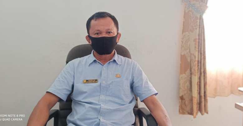FOTO : Plt. Kepala Dinas Transmigrasi, Tenaga Kerja dan Koperasi UKM Kabupaten Gunung Mas, Sudin.