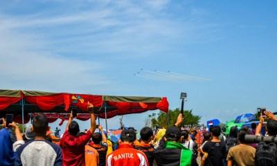Antusias pengunjung Jogja Air Show 2018