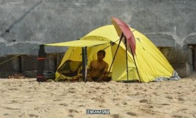 Camping pantai pok tunggal