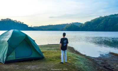 Camping di waduk sermo