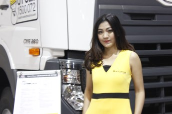 Sales Promotion Girl (SPG) nan cantik (Foto: lensautama/Kiki)