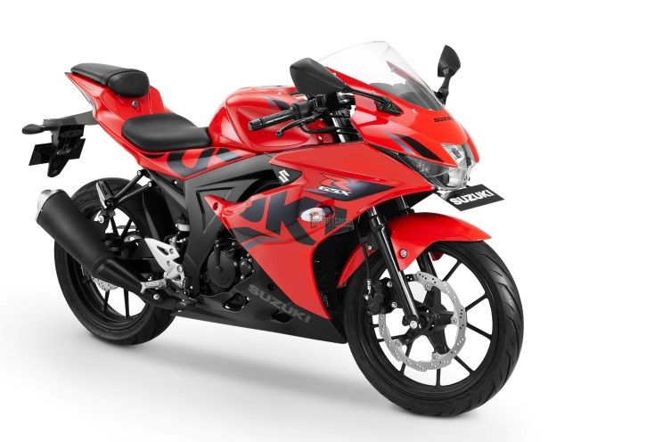 GSX-R150 Keyless Ignition - Stronger Red-Solid Black