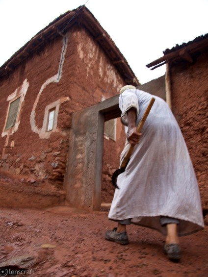 home from the fields / ouirgane, morocco