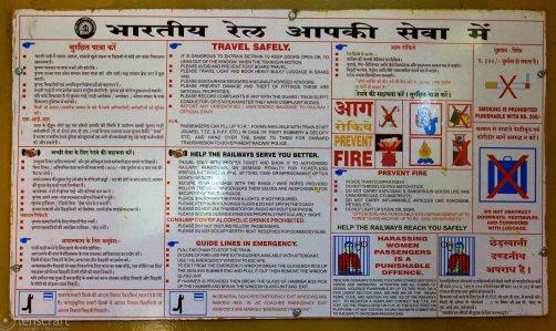 travel safely / near bandkui, india