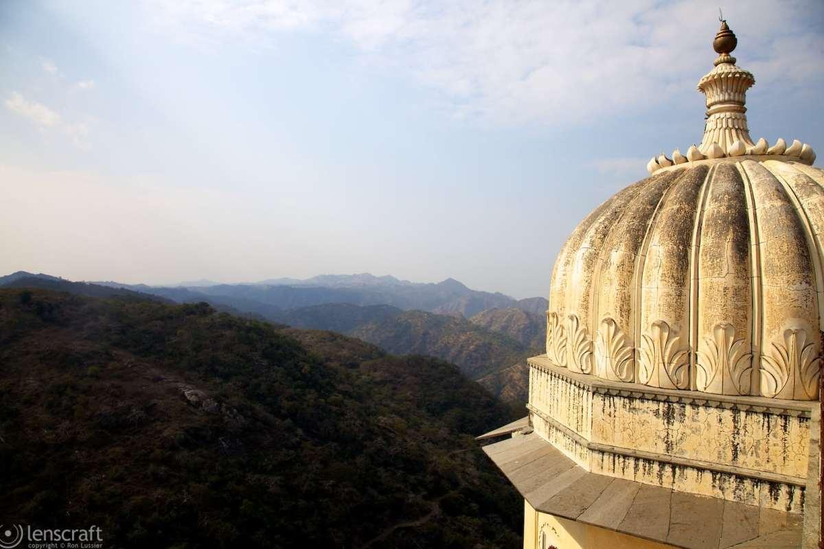 fortress view / kumbhalgarh, india