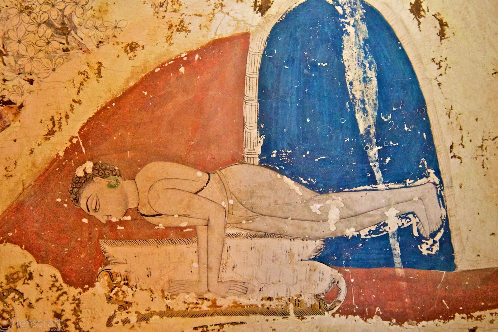 the hand stand / maya mandir, india