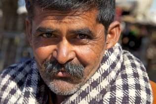 the vegetable merchant / pokaran, india