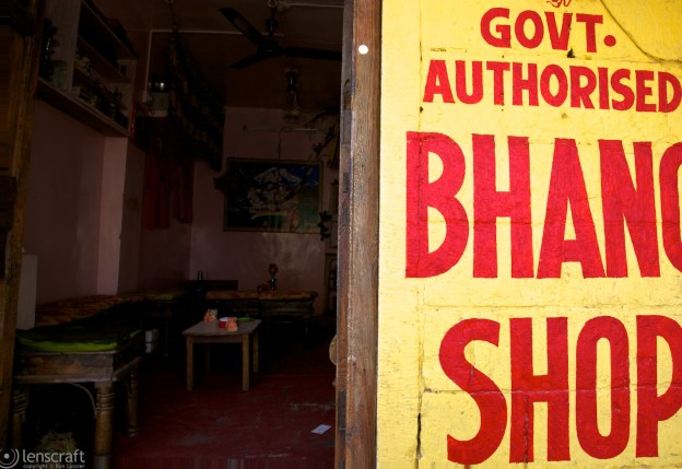 bhang shop / jaisalmer, india
