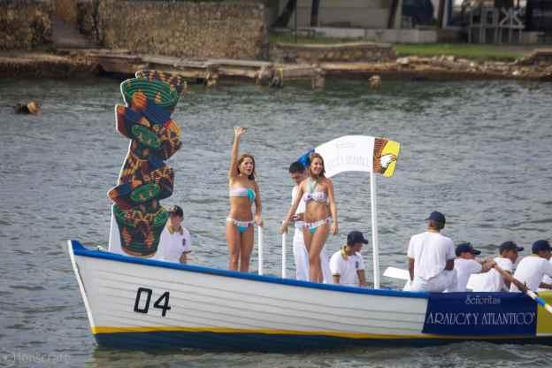 señoritas arauca y atlantico / cartagena, colombia