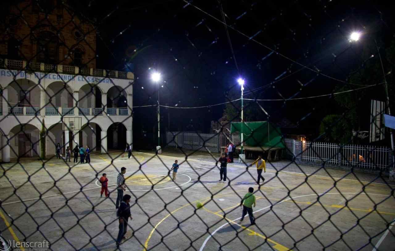 fútbol / las lajas sanctuary, colombia