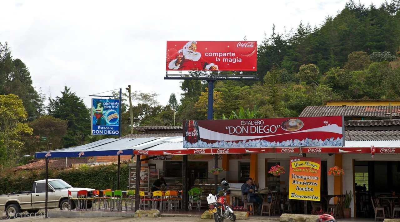 comparte la magia a el estadero 'don diego' / parque los salados, colombia