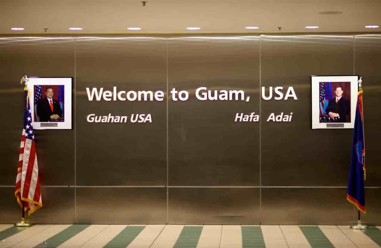 hafa adai / guam international airport