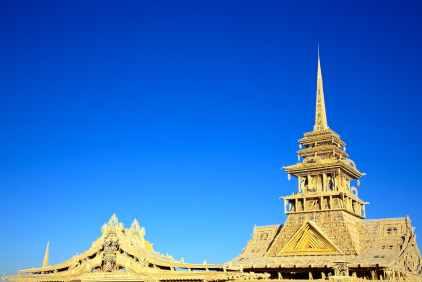 the temple of juno / black rock city, nevada