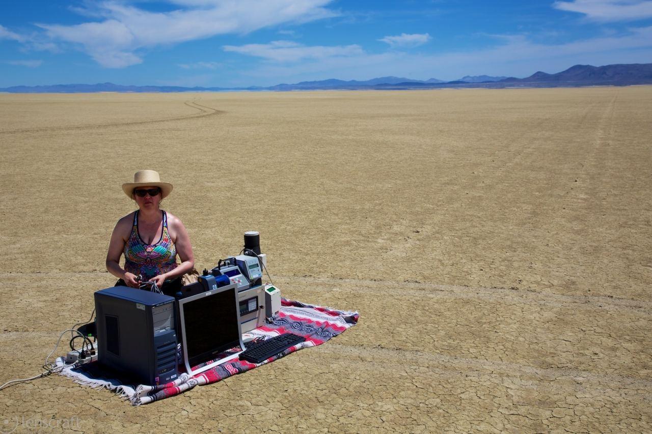 dr. lunden of the desert / black rock, nevada