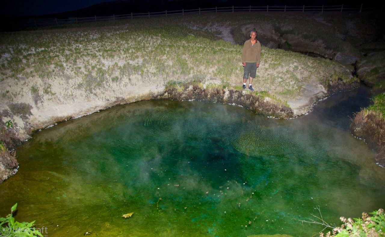 dan at double hot springs / black rock, nevada