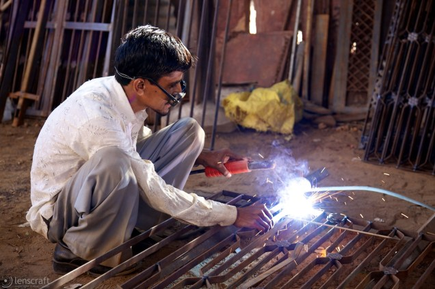 the welder / pokaran, india