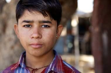 the sad boy / pokaran, india