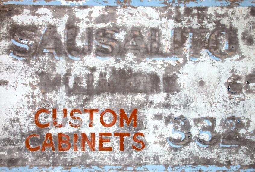 custom cabinets / sausalito, california
