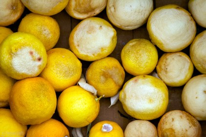 when life gives you a box of old, desiccated lemons... / sausalito