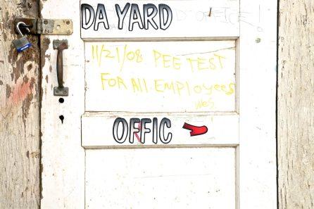da yard offic / sausalito, california