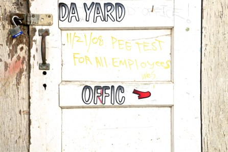 da yard offic / sausalito, california