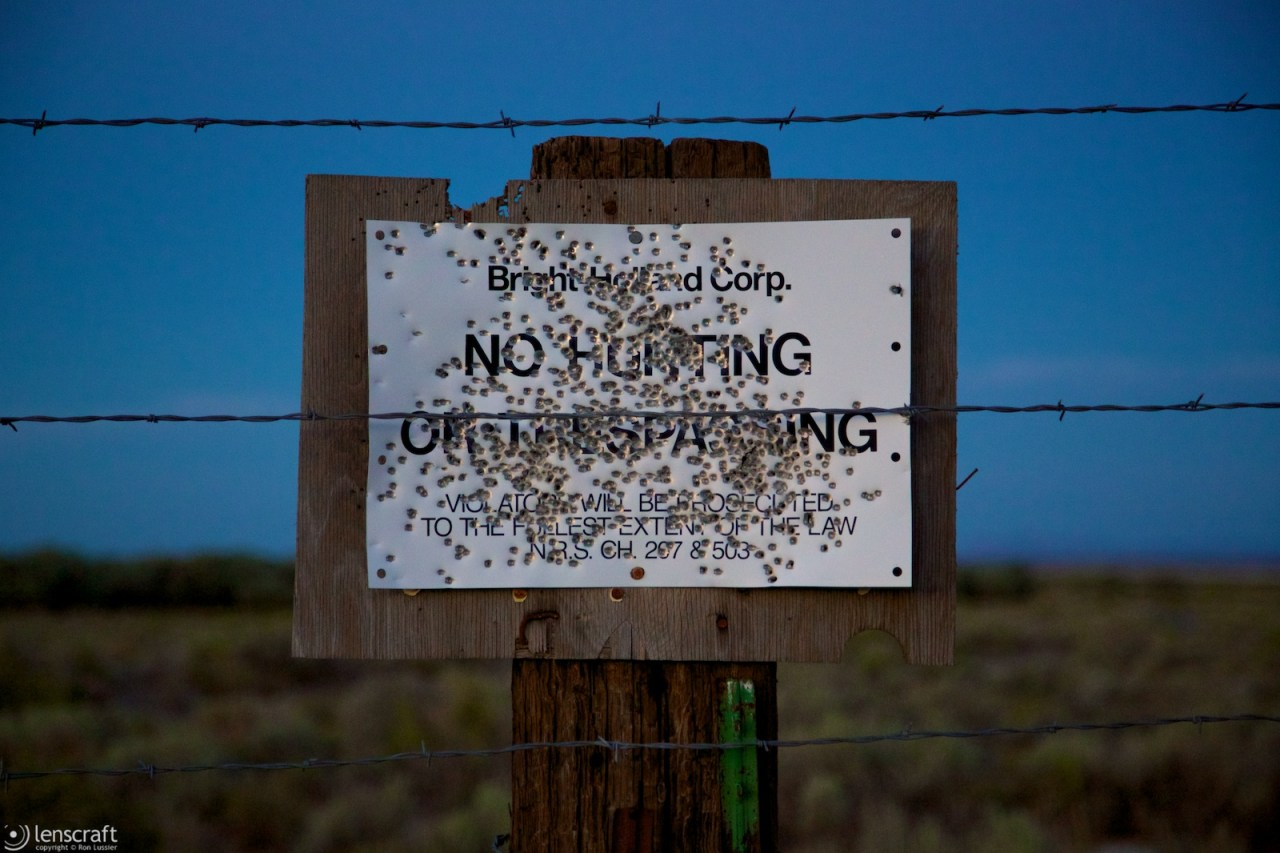 no hunting / fly ranch, nevada