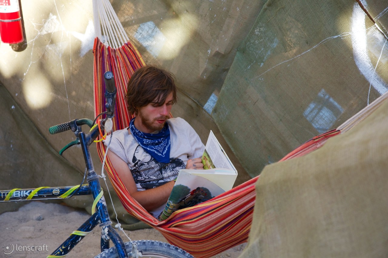 reading at the cradle of mir / black rock city, nevada