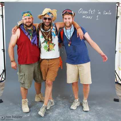Brother Bear, BurnBrightBro, and Dr. Tetris / black rock city, nevada