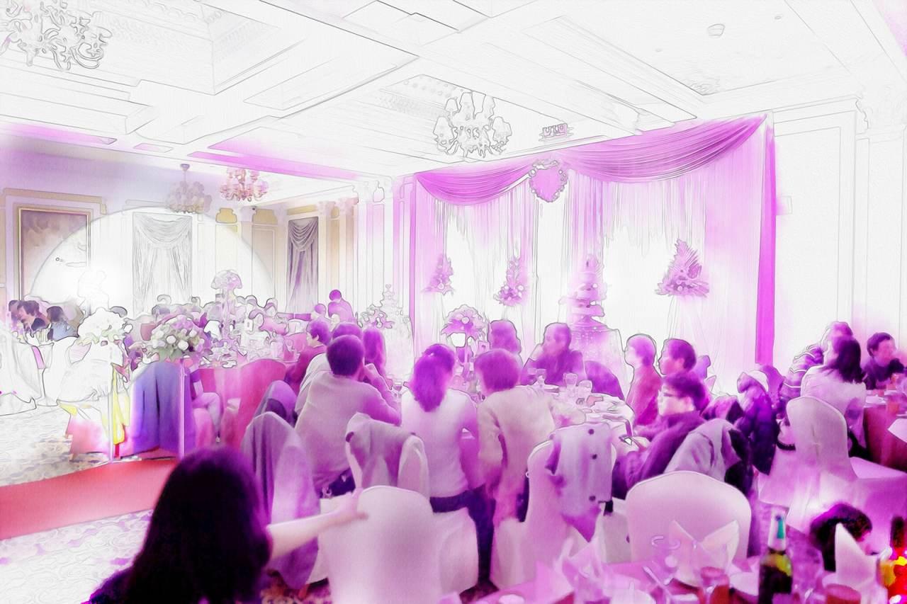 the wedding banquet / shanghai, china