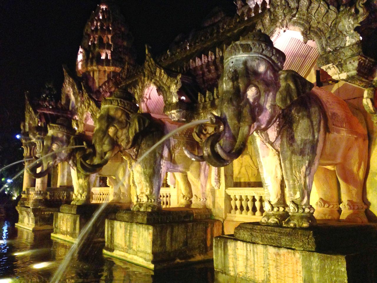 the palace of the elephants / kamala, thailand