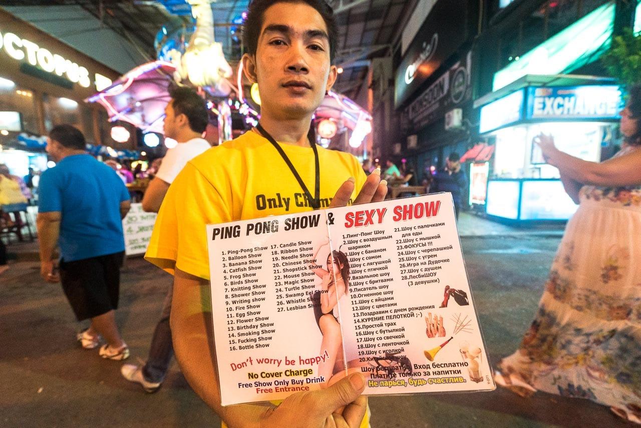 ping pong & more / patong, thailand
