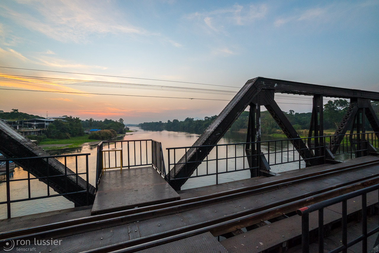 bridge on the river kwai / kanchanaburi, thailand