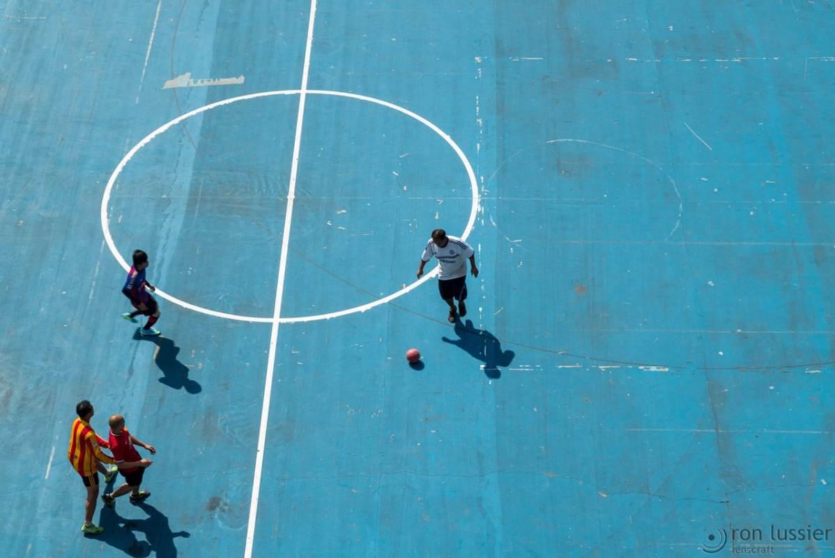 football practice / bangkok, thailand