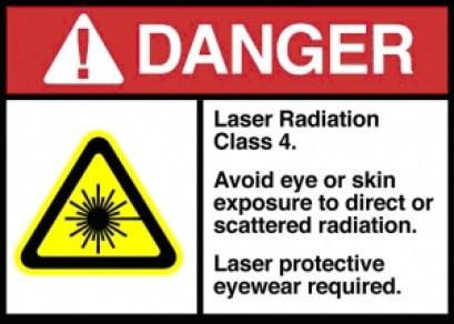 Laser Class 4