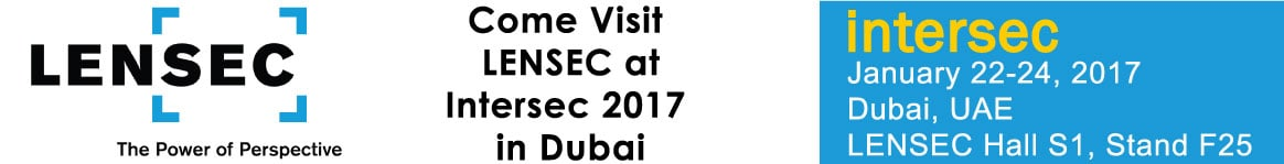 LENSEC at Intersec 2017